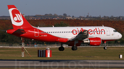 D-ABGS - Airbus A319-112 - Air Berlin