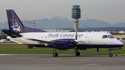 C-GPCE - Saab 340A - Pacific Coastal Airlines