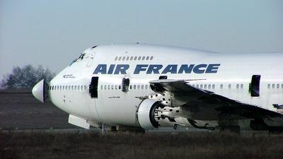 F-BPVT - Boeing 747-228B(M) - Air France