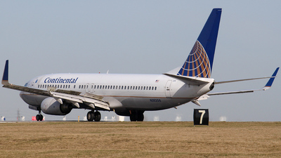N26208 - Boeing 737-824 - Continental Airlines