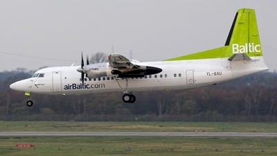 YL-BAU - Fokker 50 - Air Baltic