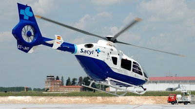 A picture of ECJHT - Airbus Helicopters H135 - Babcock MCS Espana - © Rafael Alvarez Cacho