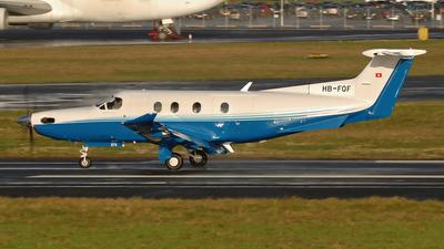 HB-FQF - Pilatus PC-12/47 - Private