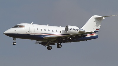 N604WS - Bombardier CL-600-2B16 Challenger 604 - Wingedfoot Services