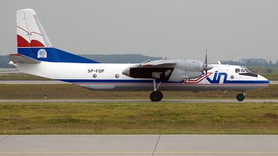 SP-FDP - Antonov An-26B - Exin