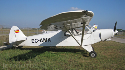 EC-AMK - Piper PA-18-150 Super Cub - Private