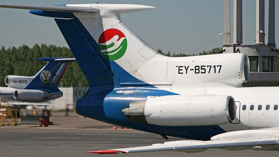EY-85717 - Tupolev Tu-154M - Tajik Air