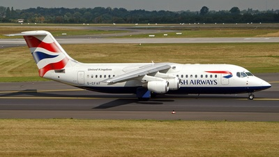 G-CFAF - British Aerospace Avro RJ100 - British Airways (CityFlyer Express)