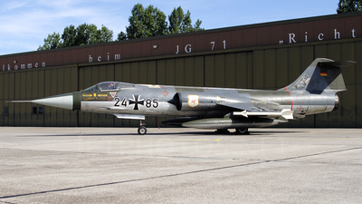 24-85 - Lockheed RF-104G Starfighter - Germany - Air Force