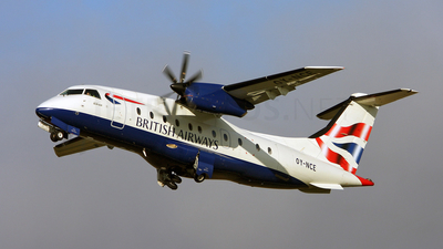 OY-NCE - Dornier Do-328-110 - British Airways (Sun-Air)