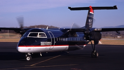 N328EN - Bombardier Dash 8-311 - US Airways Express (Piedmont Airlines)