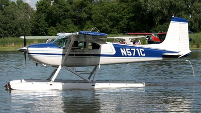 A picture of N571C - Cessna 180A - [32785] - © Terry Figg
