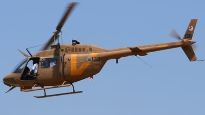 138 - Bell 206A JetRanger - Israel - Air Force