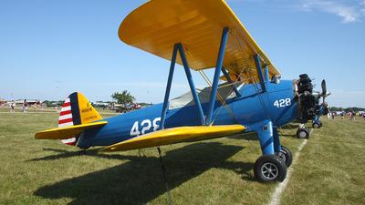 A picture of N56878 - BoeingStearman Model 75 - [751712] - © Paul Chandler