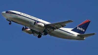 N224DA - Boeing 737-35B - Delta Shuttle