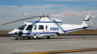 N116PD - Sikorsky S-76A - United States - New York Port Authority Police Department