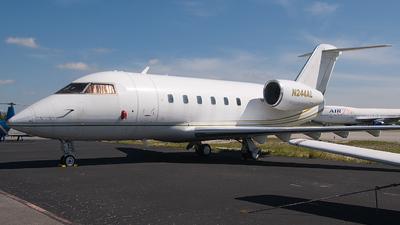 N244AL - Canadair CL-600-1A11 Challenger 600S - Private