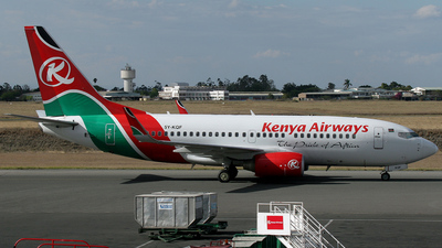 5Y-KQF - Boeing 737-76N - Kenya Airways