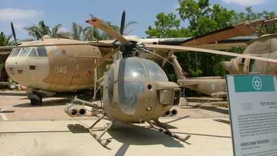 - Hughes Defender OA-6 MD-500 - Israel - Air Force