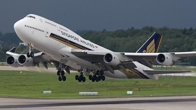 9V-SPJ - Boeing 747-412 - Singapore Airlines
