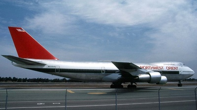 N633US - Boeing 747-227B - Northwest Orient Airlines