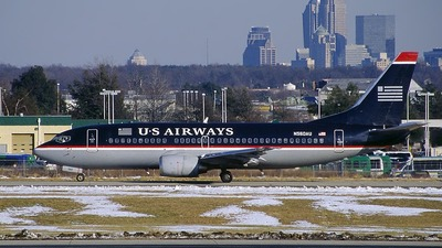 N560AU - Boeing 737-301 - US Airways
