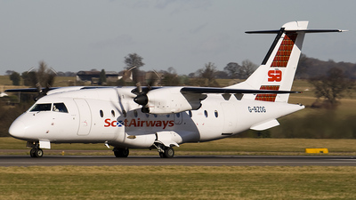G-BZOG - Dornier Do-328-100 - ScotAirways