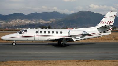 A picture of XACDF - Cessna 680 Citation Sovereign - [6800206] - © Hidemi Bustamante