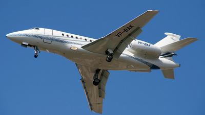 VP-BAK - Dassault Falcon 2000EX - Private