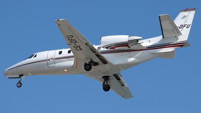 CS-DFU - Cessna 560XL Citation XLS - NetJets Europe