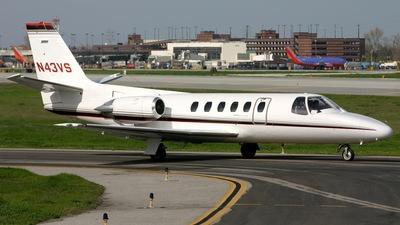 N43VS - Cessna 550 Citation II - Private