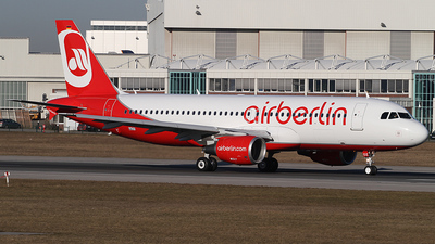 D-AXAX - Airbus A320-214 - Air Berlin (Belair Airlines)
