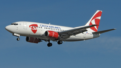 OK-CGK - Boeing 737-55S - CSA Czech Airlines