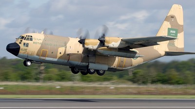 1625 - Lockheed C-130H Hercules - Saudi Arabia - Air Force