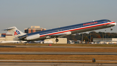 N258AA - McDonnell Douglas MD-82 - American Airlines