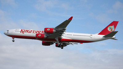 F-WWTG - Airbus A340-542 - Kingfisher Airlines