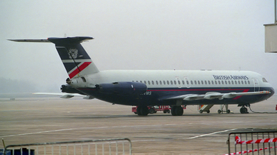 G-AVMS - British Aircraft Corporation BAC 1-11 Series 510ED - British Airways