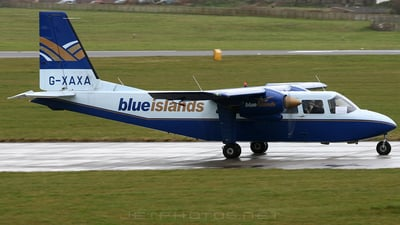 G-XAXA - Britten-Norman BN-2A-26 Islander - Blue Islands