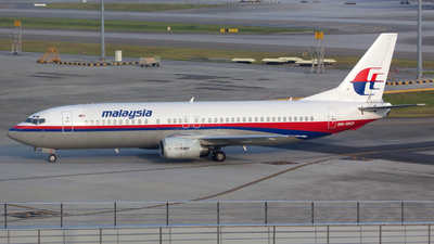 9M-MQI - Boeing 737-4H6 - Malaysia Airlines