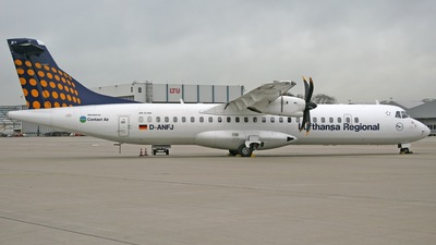 D-ANFJ - ATR 72-212A(500) - Lufthansa Regional (Contact Air)