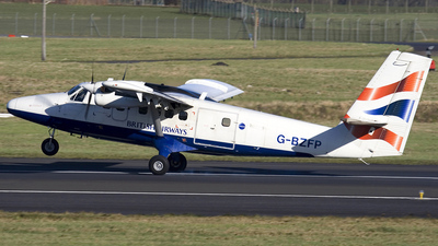G-BZFP - De Havilland Canada DHC-6-300 Twin Otter - British Airways (Loganair)