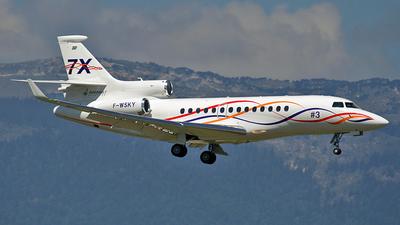 F-WSKY - Dassault Falcon 7X - Dassault Aviation