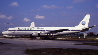 N821F - Douglas DC-8-21 - Transoceanic Airways