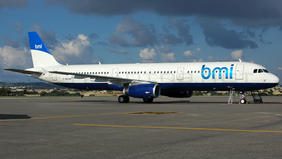 G-MEDM - Airbus A321-231 - bmi British Midland International