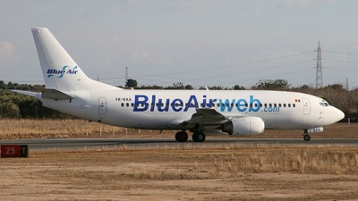 YR-BAA - Boeing 737-33A - Blue Air Transport Aerian