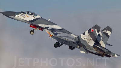 305BLACK - Sukhoi Su-27 Flanker - Russia - Air Force