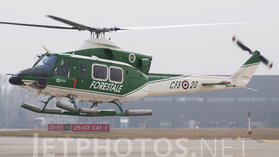 CFS20AA - Agusta-Bell AB-412SP - Italy - Forestale