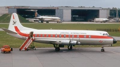 G-AVJB - Vickers Viscount 815 - Kestrel International Airways