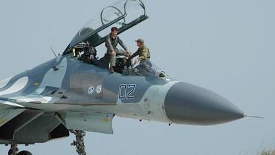 722 - Sukhoi Su-30MKK Flanker - Russia - Air Force