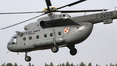 0608 - Mil Mi-17 Hip - Poland - Navy